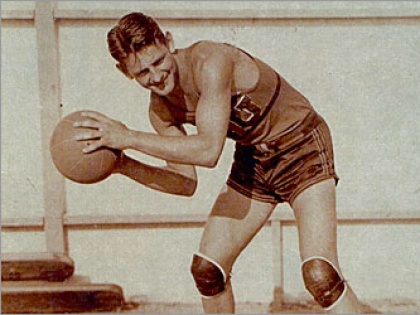 Primera canasta en la Historia de la NBA - Ossie Schectman